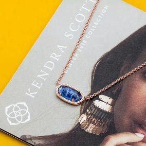 NEW✨ Kendra Scott Elisa Rose Gold Pendant Necklace